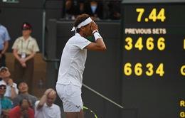 Wimbledon 2017: Nadal bị loại sau trận đấu kéo dài 5 tiếng