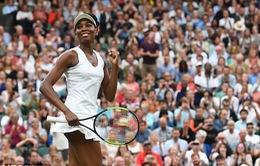 Venus Williams hướng tới cơ hội trở thành nhà vô địch nhiều tuổi nhất Wimbledon