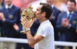 Ảnh: Những khoảnh khắc ấn tượng trong trận chung kết Wimbledon của Roger Federer
