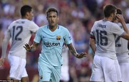 Barcelona 1-0 Man Utd: Neymar ghi bàn duy nhất, Barcelona đánh bại Man Utd