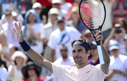 Rogers Cup 2017: Roger Federer dễ dàng đi tiếp