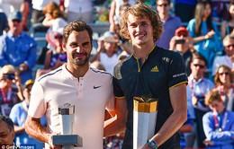 Vượt qua Roger Federer, Alexander Zverev vô địch Rogers Cup 2017