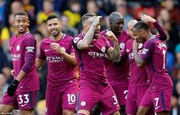 """Watford 0-6 Man City: Pep Guardiola và binh đoàn """"huỷ diệt"""""""