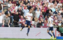 VIDEO West Ham 2-3 Tottenham: Kane lập cú đúp, Spurs thắng hú vía