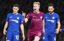 VIDEO De Bruyne gieo sầu nơi bến cũ Chelsea, đưa Man City trở lại đầu bảng