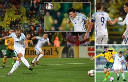 Kết quả bóng đá sáng 09/10: Đức 5 – 1 Azerbaijan, Ba Lan 4 – 2 Montenegro, Lithuania 0 – 1 Anh...