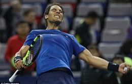 Nadal nhọc nhằn vào bán kết Thượng Hải Masters 2017