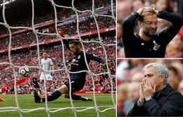 Kết quả bóng đá châu Âu đêm 14/10, rạng sáng 15/10: Liverpool hoà MU, Barca hoà Atletico, Chelsea, Arsenal đều thất bại