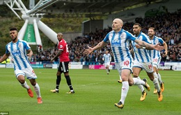 "VIDEO Huddersfield 2-1 Man Utd: ""Động đất"" ở Premier League"