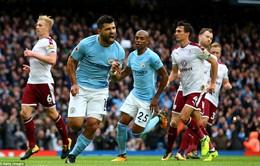 VIDEO Man City 3-0 Burnley: Thắng nhẹ nhàng, vững vàng ngôi đầu