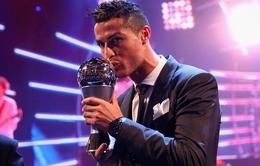 FIFA The Best 2017: Cristiano Ronaldo lần thứ 5 đoạt giải Cầu thủ xuất sắc nhất