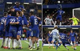 Kết quả bóng đá châu Âu  đêm 25/10, rạng sáng 26/10: Chelsea 2-1 Everton, Tottenham 2-3 West Ham, Juventus 4-1 SPAL 2013
