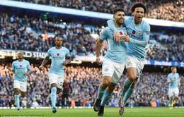 BXH Ngoại hạng Anh sau vòng 11: Man City xây chắc ngôi đầu, bỏ xa MU, Chelsea