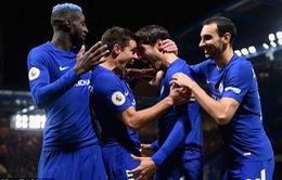 Morata tỏa sáng, Chelsea áp sát Man Utd trên BXH Ngoại hạng Anh