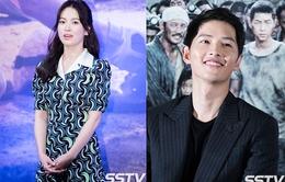 Song Joong Ki công khai thổ lộ tình yêu và sự ngưỡng mộ với Song Hye Kyo