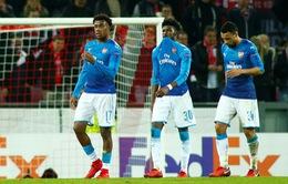 Kết quả bóng đá Europa League sáng 24/11: Arsenal thua sốc, Everton chính thức bị loại