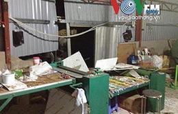 TP.HCM: Dông lốc phá hỏng hàng chục nhà dân