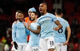 Kết quả, BXH Ngoại hạng Anh sau vòng 16: Man City đánh bại MU, Chelsea thua West Ham, Tottenham trở lại mạch thắng