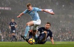 VIDEO: Tổng hợp trận đấu Man City 4-1 Tottenham