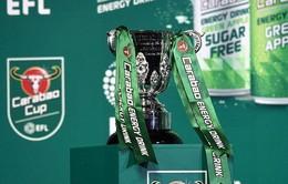 Bốc thăm bán kết League Cup: Man City đối đầu hiện tượng của giải