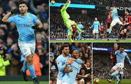 VIDEO Man City 4-0 Bournemouth: Đội đầu bảng dạo chơi trước Giáng sinh