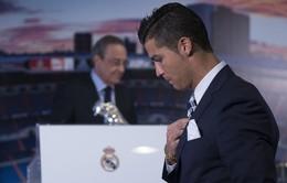 """Sếp lớn PSG kích tướng Cris Ronaldo """"bật"""" chủ tịch Perez"""