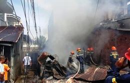Kiên Giang: 2 căn nhà cháy rụi trưa mùng 5 Tết