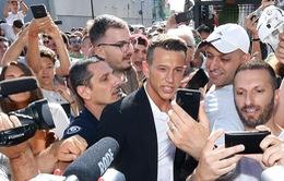 TRỰC TIẾP Chuyển nhượng bóng đá quốc tế ngày 25/7/2017: Juventus chính thức đón tân binh 40 triệu euro
