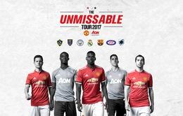 Lịch thi đấu và tường thuật trực tiếp Tour du đấu Hè 2017 của Man Utd
