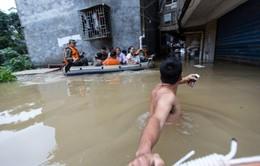 Mưa lũ ở Trung Quốc, 78 người thiệt mạng và mất tích