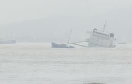 Chìm tàu hàng ở Bình Định: Đã tìm thấy 4 thi thể thuyền viên