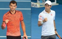 Brisbane International 2017: Nishikori và Dimitrov vào chung kết