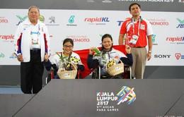 Asean Para Games 9: Tổng hợp ngày thi đấu thứ 3 của Đoàn TTVN