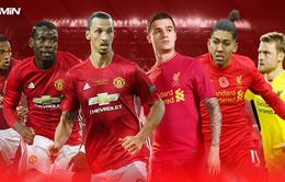 Lịch trực tiếp vòng 22 Ngoại hạng Anh: Rực lửa siêu kinh điển Man Utd – Liverpool
