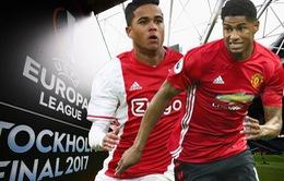 Chung kết UEFA Europa League, Ajax - Manchester United: Khác biệt ở kinh nghiệm? (01h45 ngày 25/5)