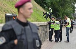 Nổ tại trung tâm thủ đô Ukraine, 2 người bị thương