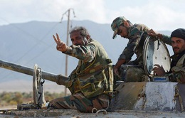 Người dân Syria vui mừng tột độ trước chiến thắng lịch sử Deir Ezzor