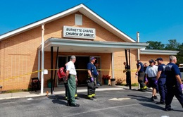 Mỹ: Nổ súng ở nhà thờ, ít nhất 7 người thương vong