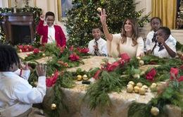 Nhà Trắng trang hoàng lộng lẫy đón Giáng sinh và năm mới
