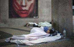 Brazil: Người có việc làm cũng phải sống cảnh vô gia cư