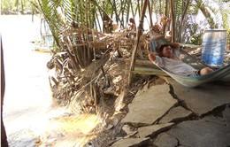 TP.HCM: 6 sáu điểm có nguy cơ sạt lở, ảnh hưởng 215 hộ dân huyện Nhà Bè