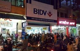 Tái hiện hiện trường vụ cướp ngân hàng BIDV ở Huế