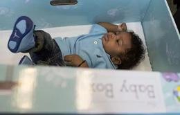 Mỹ: Phát miễn phí hộp sơ sinh nhằm giảm tỷ lệ trẻ tử vong khi ngủ