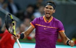 Tứ kết đơn nam giải quần vợt Madrid mở rộng: Nadal và Pablo Cuevas giành quyền vào bán kết