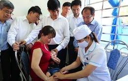 Bộ Y tế tổ chức mít tinh hưởng ứng Tuần lễ Tiêm chủng tại Quảng Ngãi