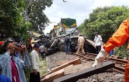 Tiếp tục xảy ra tai nạn đường sắt tại Bình Định