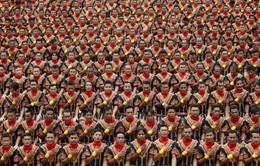 Hơn 10.000 người ở Indonesia phá vỡ kỷ lục cùng nhảy điệu truyền thống