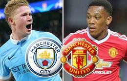 Lịch trực tiếp vòng 26 Ngoại hạng Anh: Thành Manchester nguy cơ bị bỏ lại