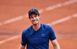 Lịch thi đấu Pháp mở rộng 2017 ngày 5/6: Murray rộng cửa vào tứ kết, Wawrinka gặp khó