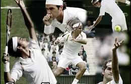 Roger Federer đặt mục tiêu lập kỷ lục mới tại Wimbledon 2017